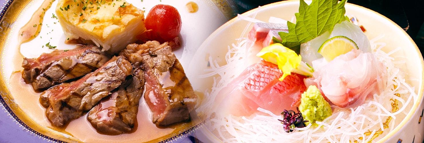 サザンクロスの料理