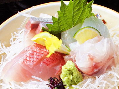 旬の味わい会席鮮魚