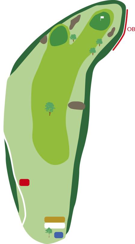 サザンクロスゴルフコースホール3