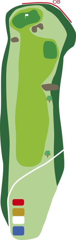 サザンクロスゴルフコースホール4