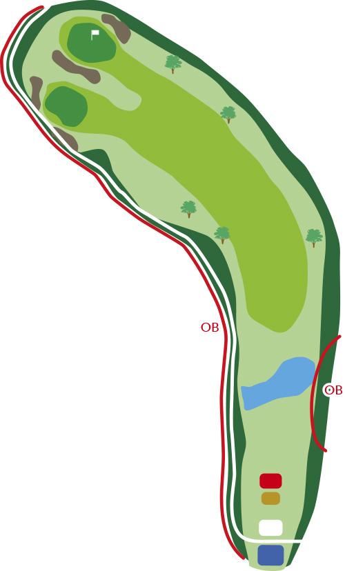 サザンクロスゴルフコースホール6