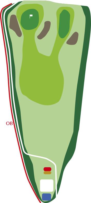 サザンクロスゴルフコースホール7