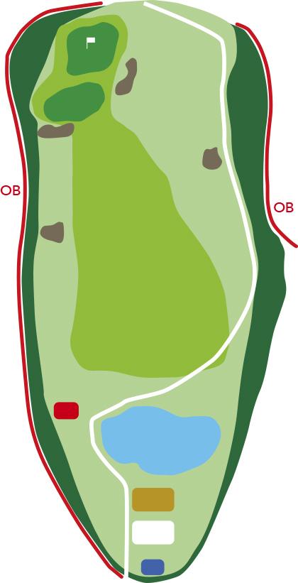 サザンクロスゴルフコースホール11